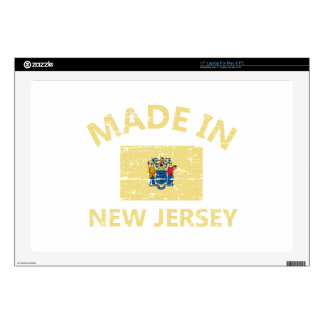 Made in NEW JERSEY United States Flag designs Laptop Skins