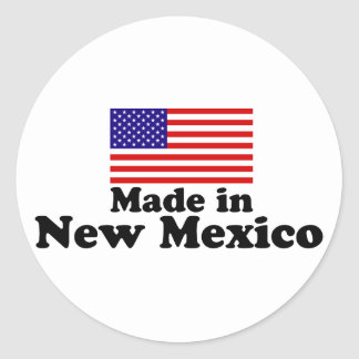 Made in New Mexico Classic Round Sticker