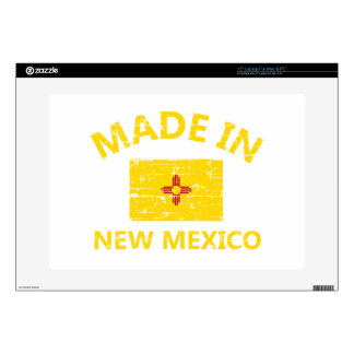 Made in NEW MEXICO United States Flag designs Laptop Decals