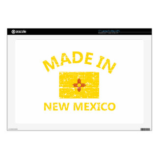 Made in NEW MEXICO United States Flag designs Decals For Laptops