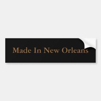Made In New Orleans Bumper Sticker