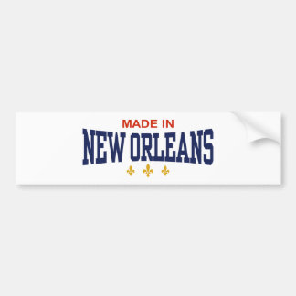 Made in New Orleans Bumper Stickers