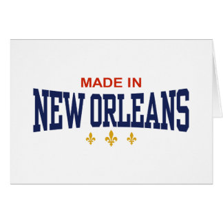 Made in New Orleans Greeting Card