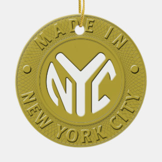 Made in New York City Ornament