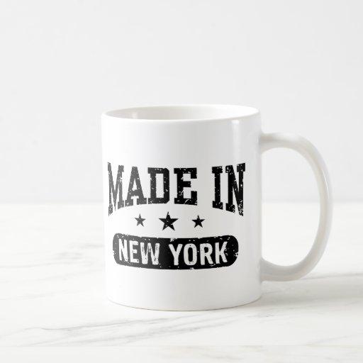 Made in New York Classic White Coffee Mug