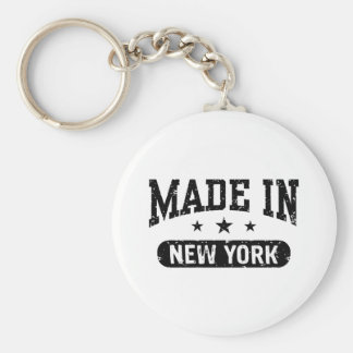Made in New York Keychain