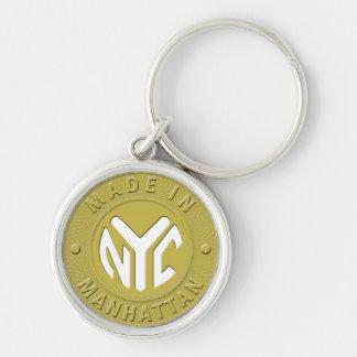 Made In New York Manhattan Keychain