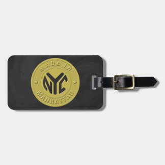 Made In New York Manhattan Luggage Tag
