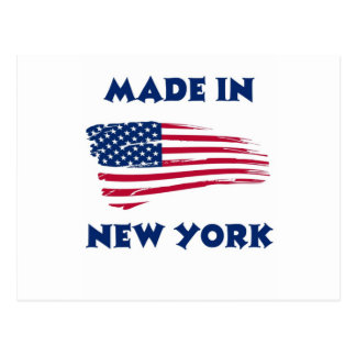 MADE IN NEW YORK POSTCARD