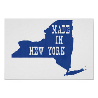 Made In New York Poster