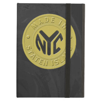 Made In New York Staten Island Cover For iPad Air
