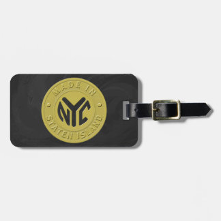 Made In New York Staten Island Luggage Tag
