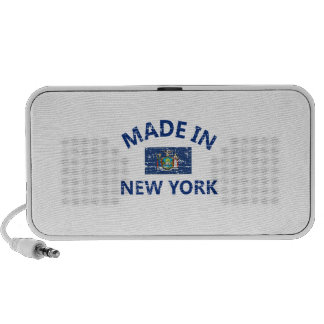 Made in New York United States Flag designs Laptop Speakers