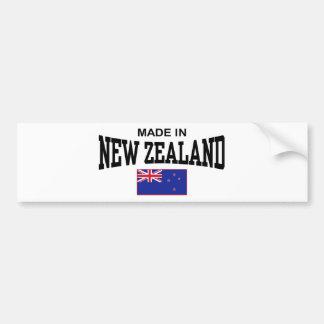Made In New Zealand Bumper Sticker