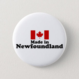Made in Newfoundland Button