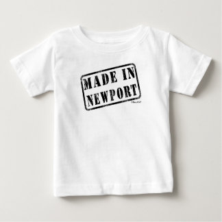 Made in Newport Baby T-Shirt