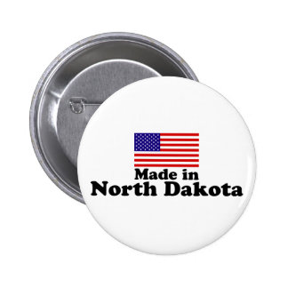 Made in North Dakota Pin