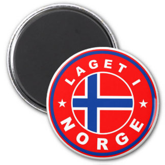 made in norway country flag label laget norge magnet
