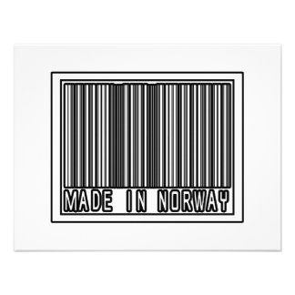 Made In Norway Personalized Invitations