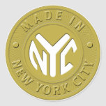 MADE IN NYC Stickers