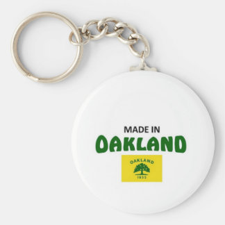 Made in Oakland California Keychain