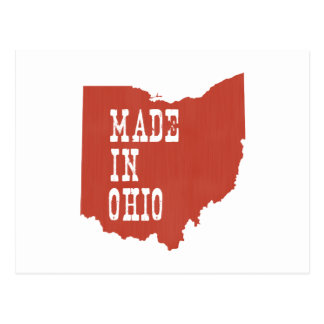 Made In Ohio Postcard