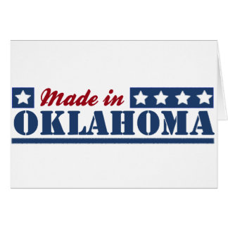 Made In Oklahoma Greeting Cards