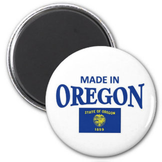 Made in Oregon 2 Inch Round Magnet