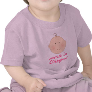 Made In Oregon Baby or Toddler Tee Shirt