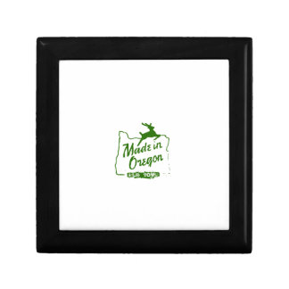 Made in Oregon - Old Town Portland Sign Gift Box