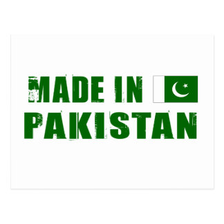 Made in Pakistan Postcard