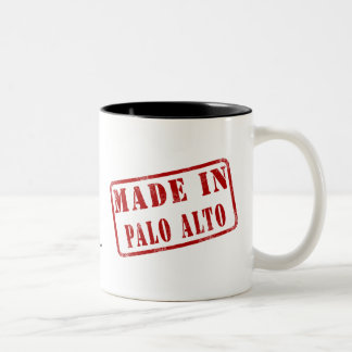 Made in Palo Alto Two-Tone Coffee Mug