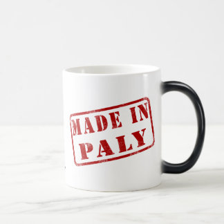 Made in Paly 11 Oz Magic Heat Color-Changing Coffee Mug