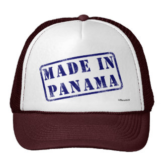 Made in Panama Trucker Hat