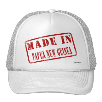 Made in Papua New Guinea Trucker Hat