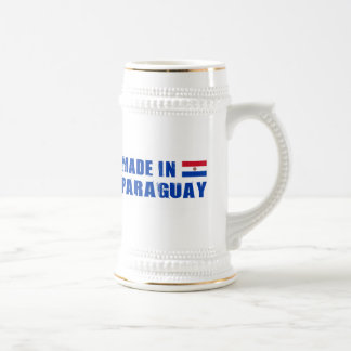 Made in Paraguay Beer Stein