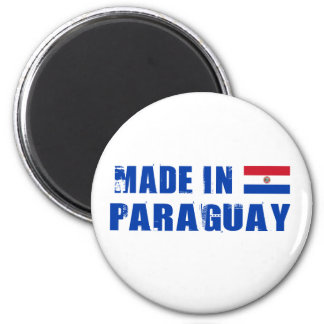 Made in Paraguay 2 Inch Round Magnet