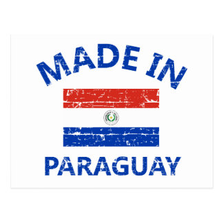Made in Paraguay Postcard