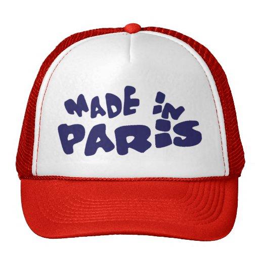 MADE IN PARIS TRUCKER HAT