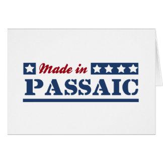 Made in Passaic Greeting Card
