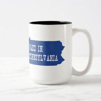 Made In Pennsylvania Two-Tone Coffee Mug