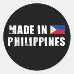 Made in Philippines Classic Round Sticker