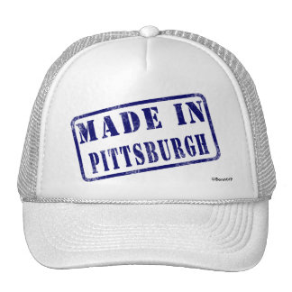 Made in Pittsburgh Trucker Hat