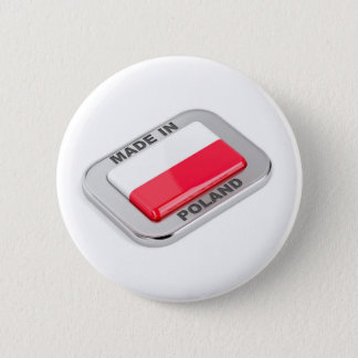 Made in Poland badge Pinback Button