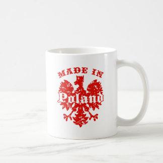 Made In Poland Classic White Coffee Mug