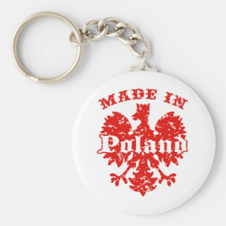 Made In Poland Key Chain
