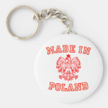 Made In Poland Keychains