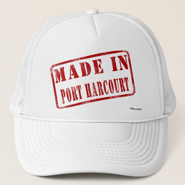 Made in Port Harcourt Trucker Hat
