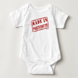 Made in Portsmouth Baby Bodysuit