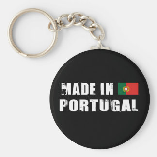 Made in Portugal Basic Round Button Keychain